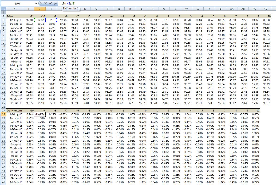 how to return from a subrtountine in vba